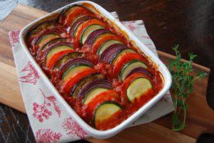 オーブンで作る夏野菜ラタトゥイユ