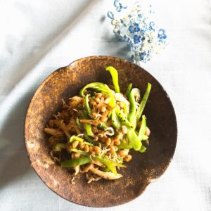 夏野菜の発酵炒め