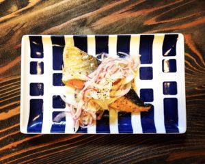 鮭と玉ねぎのエスカベッシュ