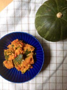 潤い力UP!秋のかぼちゃサラダ