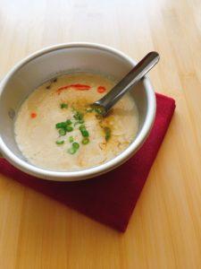 『台湾の朝ごはん 鹹豆漿』のレシピ