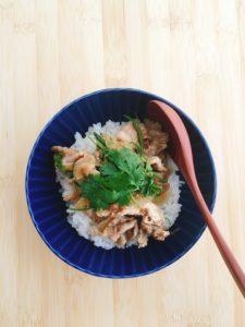 『豚こま肉で簡単!スパイス香る魯肉飯』のレシピ