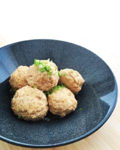 『鶏肉の塩麹肉団子』のレシピ