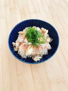 『ガリと塩鯖の散らし寿司』のレシピ
